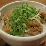 上海麺館 - 豚めし150円