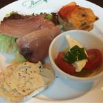 サラ スイート カフェ ルーコラ - ランチ前菜