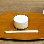 カイカドウ カフェ - カイカドウ チーズケーキ