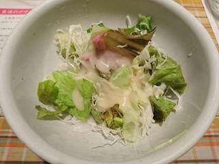 ぐらたんはうす ぱん - マイセットのサラダ