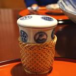 料亭 岡崎 - ヒレ酒