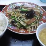 中華食堂一番館 - 「レバニラ炒め定食(¥600)」