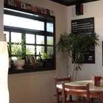 SANTA CAFE - 奥のテーブル