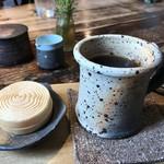 うわのそら - ★★★☆ ランチのコーヒーとデザート