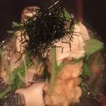 59642602 - 鱧の天ぷら 湯葉のあんかけ