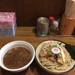 59642620 - 辛つけ麺(魚介)の大('16/12/04)
