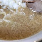 ぎと家 - 脂増しのスープ