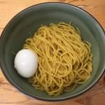 麺 風来堂 - つけ麺、半熟卵はホームページクーポンでいただきました。