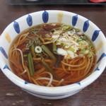 大谷製麺工場 - そば粉100% 山菜雲谷そば(450円)