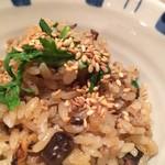 59646754 - 釜炊き新米 鯨モツ炊き込みご飯