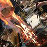 炉端と肉割烹 笹揶 - これぞ藁焼き