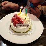 オールデイブッフェ コンパス - オールデイブッフェ コンパス @Yokohama Bay Sheraton 誕生日ケーキ