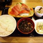 魚河岸おに平 - 「刺身定食」850円