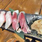 旬菜 籐や - かんぱち寿司と〆さば寿司