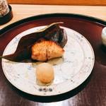 日本料理 太月 - 鰤(氷見)照り焼き 染めおろし] 2016年12月