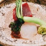 日本料理 太月 - お造り アップ 2016年12月