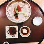 日本料理 太月 - お造り プランビュー 2016年12月