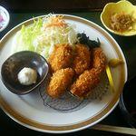 59652292 - カキフライ定食980円(税込)