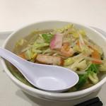 リンガーハット - 野菜たっぷりスープ 塩味スープ