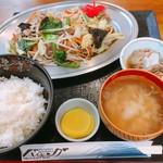 バイキング - 料理写真:野菜炒め定食