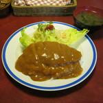 レストラン ナカタ - 「洋風カツ丼」です。
