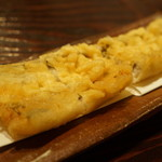 ぽつらぽつら - 活〆穴子の天ぷら(1000円)
