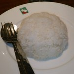 バンコクキッチン - [料理] カーオ スワイ (タイ 香り米) 全景♪w