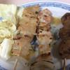 おゝ竹 - 料理写真:焼き鳥(ダルム・かしわ・ツクネ)