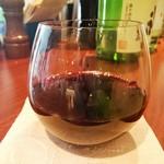 立寄処 桜子 - グラスワイン赤
