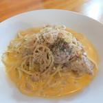 オルトラーナ - 里芋のボロネーゼクリームスパゲッティ