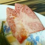 wagyu焼肉 伊萬里 GINZA - 上カルビ