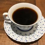 カフェ ラ パーチェ - ホットコーヒー ※チキンクラブハウスを注文すると、+250円で注文可能