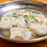 神田餃子屋 - スープ水餃子
