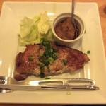 TANTO - 広島県産六穀豚のステーキ