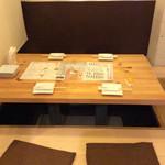 TANTO - 堀こたつ風のテーブル