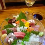 うまか味 薩摩 - お造り盛り合わせ1380円