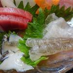 うまか味 薩摩 - あわび、中トロ、コチ、生エビ