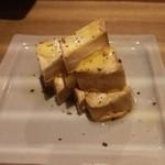 ビストロシノワ YASMIN - クリームチーズの紹興酒漬け