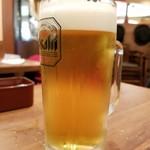 シェーンズバーグ 錦糸町店 - 生ビール(322円)