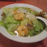 中華料理ふじよし - 料理写真:海老中華丼