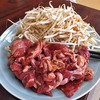 澤田屋 - 料理写真:「じんぎすかんAセット」の肉(2人前)(2016年12月)