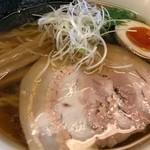 59664585 - 【味玉醤油ラーメン(太麺)…850円+税】♫2016/11