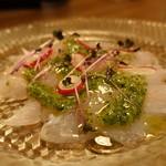 ブシェリ片町 - ☆本日の鮮魚のカルパッチョ(^_-)-☆