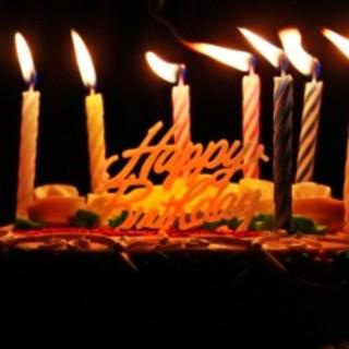 お誕生日にケーキをご用意いたします♪