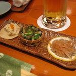 魚竹 - お通し