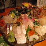 魚竹 - 超豪華!上刺し1人前3450円