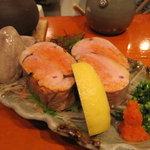 魚竹 - 巨大な鮟鱇の肝