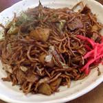 きくち - 肉ポテト入り焼きそば (大盛り) ¥500