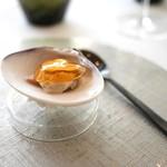 エスキス - 蛤の白ワイン煮、シードルとマッシュルームのソース