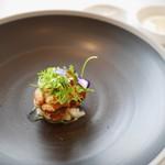 エスキス - 料理写真:鱈の白子のムニエル